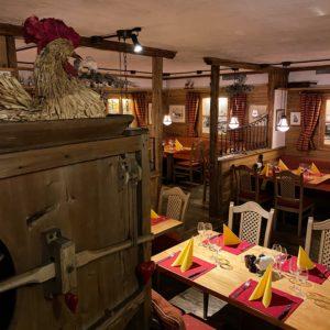 steakhouse zermatt interior